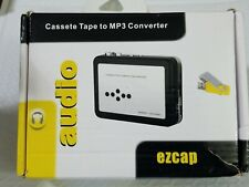 New Portable Ezcap Usb Cassette Tape To Mp3 Capture Converter With Playback