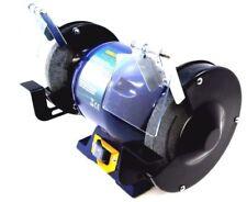 "Heavy Duty 375W 6"" 150mm Bench Grinder Sander Polisher Polishing Machine Tool"