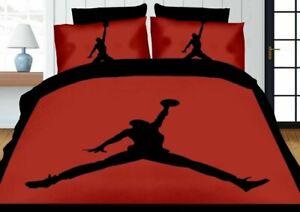 Jordan Basketball Quilt Cover Single Double Queen King Bedding