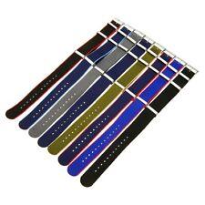 22mm Fashion Military Nylon Wrist Watch Band Straps Replacement Belt