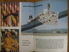 June 10, 1961 TV Guide (LISABETH HUSH/SHARON  HUGUENY/NAKED CITY/PAUL BURKE)