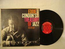 VINTAGE JAZZ GUITAR EDDIE CONDON'S TREASURY OF JAZZ COLUMBIA 6 EYE CL 881