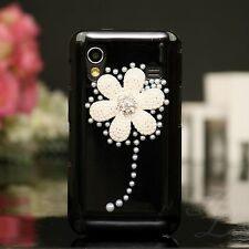 Samsung Galaxy Ace s5830 Hard Case Housse portable étui perles strass 3d