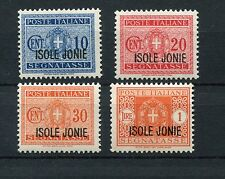IONIAN ISLANDS 1941 POSTAGE DUE MNH Set 4 Stamps cat EURO 50