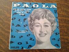 45 tours P.A.O.L.A torero 2ème série avec alain goraguer et son orchestre