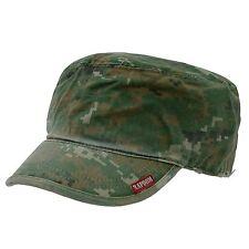 CAMOUFLAGE MILITARY ARMY GI BDU PATROL CAP HAT CAPS WD
