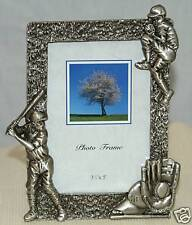 1-3.5 x 5~Baseball~Picture Frame~Good~Heavy~Metal~Fr ame
