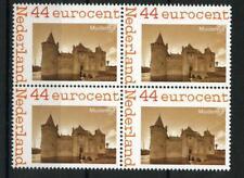 Nederland 2562-Aa-20 Serie kastelen Muiderslot blok v 4