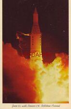 JUNO II, PIONEER IV, HUNTSVILLE, AL. REDSTONE ARSENAL 1st satellite of the sun