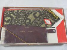 Avon 1970's Men's Tie and Wallet Set Brand New in original package Vintage