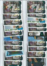 LOT OF 22 BRAD PEACOCK  ROOKIE CARDS OAKLAND ATHLETICS BOWMAN  HOUSTON ASTROS