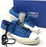 Converse Jack Purcell Signature Canvas Blue Men's Size Sneakers 153102c