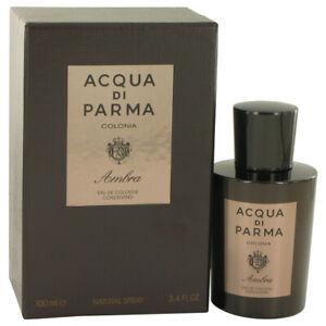Acqua Di Parma Colonia Ambra  Eau De Cologne Concentrate Spray 3.3 oz for Men