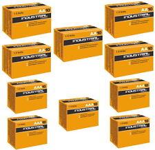 100 Duracell Batterie alcaline Industrial in cartone 10er (50x AA + 50x AAA)