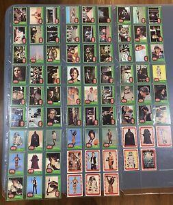 1977 Star Wars Cards Green Series 4 Complete Set + Stickers - C-3PO Error #207