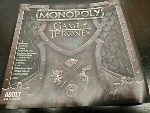 2018 Hasbro Monopoly Game of Thrones Game Replacement Pieces - You Choose