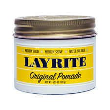 Layrite Deluxe pomade Gel 4 oz