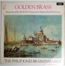 Golden Brass The Philip Jones Brass Ensemble  Argo Records ZRG 717 LP
