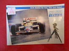 Prospekte Slik-Stative für Foto,Film und Video 1988