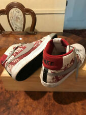 LIMITED EDITION NIKE UPTOWNS DEXTER BLOOD SPATTER THEME AIRFORCE1 SIZE 10.5 MENS