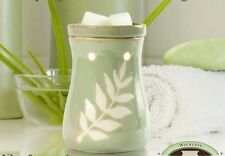 Tranquility Green Electric Warmer / Burner Ambiescents for Scented Wax or Oil