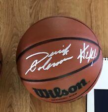 Derrick Coleman Signed Basketball
