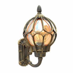 Antique wall lamp outdoor porch light villa balcony garden lamps exterior sconce