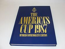 AMERICA'S CUP 1987 THE OFFICIAL RECORD (MEMBERS COPY) BY B FISHER & B ROSS
