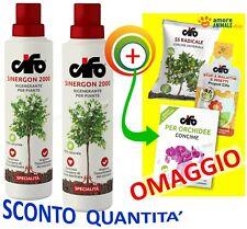 Cifo SINERGON 2000 ml 500 (+ 3 bustine) - Concime liquido rigenerante per piante