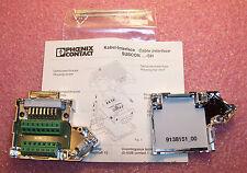 QTY (1) 2761596 PHOENIX SUBCON 15/F-SH 15 POSITION DSUB BUS CONNECTOR NOS