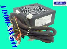 SHARK 1000W Black Gaming PC ATX Power Supply 120mm Fan SATA SLI PCI-E Ready PSU