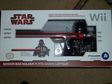 NINTENDO Wii U OFFICIAL SENSOR BAR HOLDER NEW! Star Wars Darth Vader Light Sabre