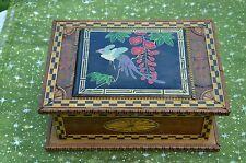 Coffret antiquité bois marqueterie