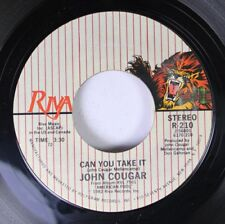 Rock 45 John Cougar - Can You Take It / Jack & Diane On Riva