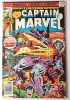 Captain Marvel #47 Human Torch Appearance Marvel 1976 VF
