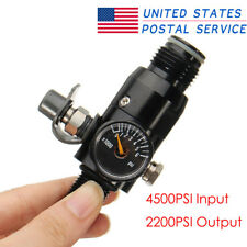4500psi M18x1.5 Threaded 2200Psi Output Valve For Paintball Pcp Hpa Air Tank
