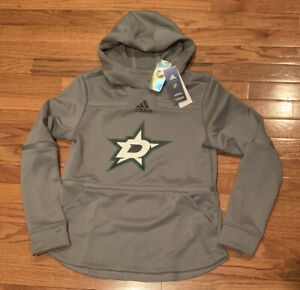 adidas Dallas Stars Women's Pullover Hoodie GH5532 Medium NWT $80