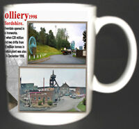 SILVERDALE COLLIERY COAL MINE MUG LIMITED EDITION GREAT GIFT MINERS NORTH STAFFS