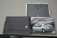 Citroen Xsara Picasso  book pack/ wallet manual 2005 on wards plus other years