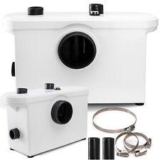 Kesser® Hebeanlage Zerkleinerer Kleinhebeanlage Fäkalienpumpe 600 Watt WC Dusche