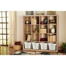 Cube Organizer Storage Cubes Wood Shelves Bookshelf Toy Shelf Organization New