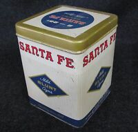 Vintage SANTE FE Mild BLUNT Cigars Advertising Tin Collectors Box (AB481)