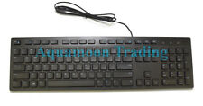Original OEM Slim USB Desktop Computer Keyboard English Language W/Number Pad