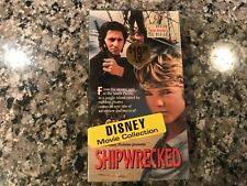 Shipwrecked New Sealed Vhs! 1990 Action! (See) The Goonies & The Crimson Pirate