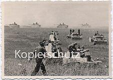 auf Feldzug SFL Wespe Panzer III und Tiger-Panzer iV Wehrmacht WK2 Foto 10x14cm