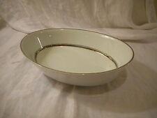 Nice Oval Vegetable Serving Bowl, Noritake China, Galaxy Pattern, Platinum White