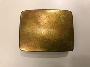 Vintage,Solid Brass,bespoke, men's classic trophy belt buckle.Made in Italy.