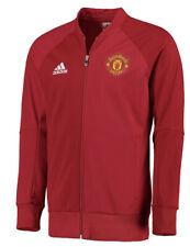 Adidas Manchester United Men's Soccer Anthem Track Jacket Jersey Medium M Man U