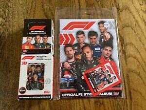 F1 Formula 1 - 2020 Topps 30 Pack Sticker Box, Tin & Album - Lewis Hamilton