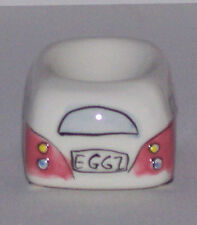 Pink Kombi Style Egg Cup